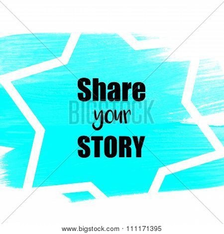 Share your story suggestion