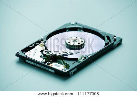 Disassembled Laptop Hard Drive