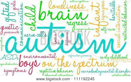 Autism Word Cloud