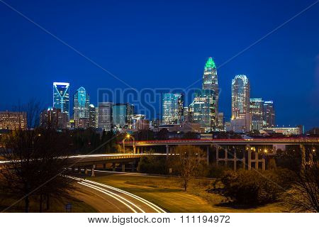 Evening Rush Hour Commute In Charlotte, North Carolina 4