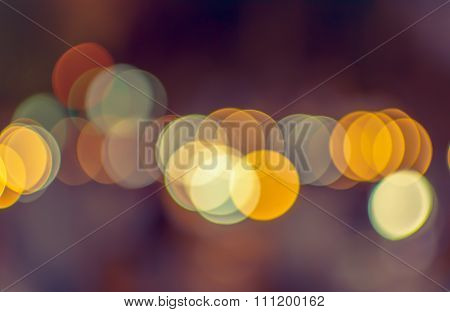 Abstract blur de-focussed, soft focus, greeting holiday card