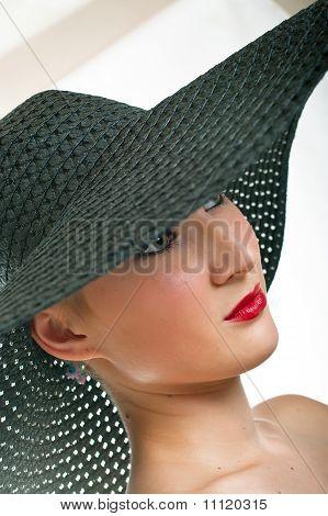 Women In Black Hat