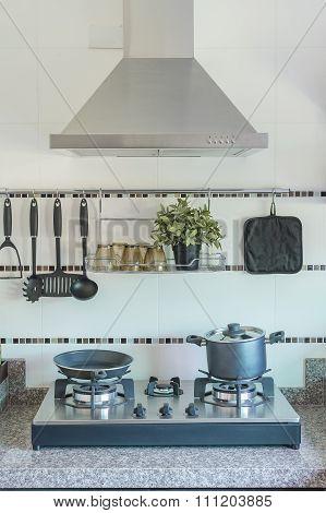 Utensil In Kitchen Room