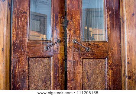 Old Antique Door For Ships