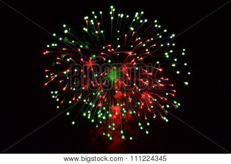 A large Fireworks Display event background