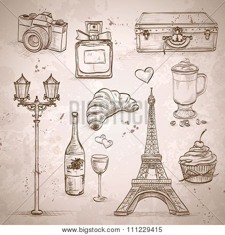 Vector elements of Paris
