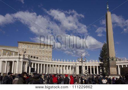 Piazza San Pietro In Rome