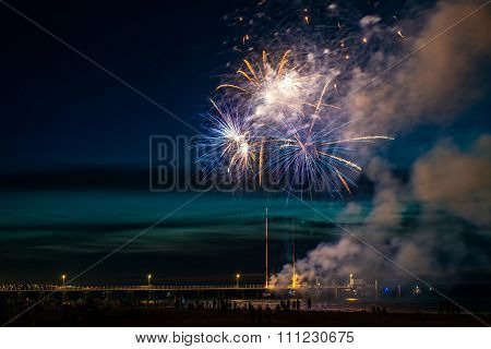 Glenelg New Year Fireworks