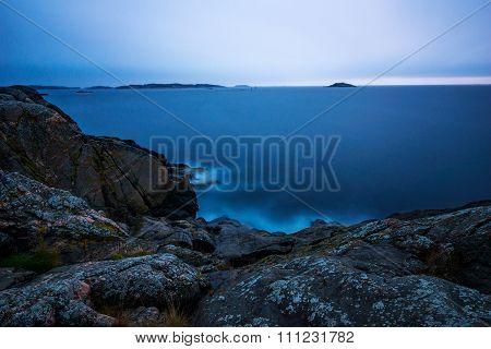 Dawn in archipelago