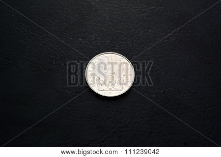 Czech money -  1 krona (2000 year)