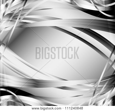 Black and white background - metal texture