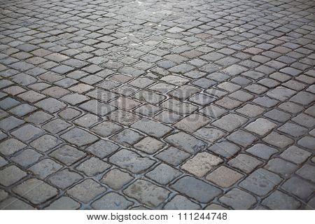 Cobblestone Street Texture