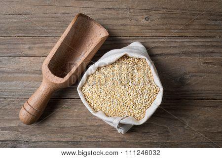 Quinoa With Bailer