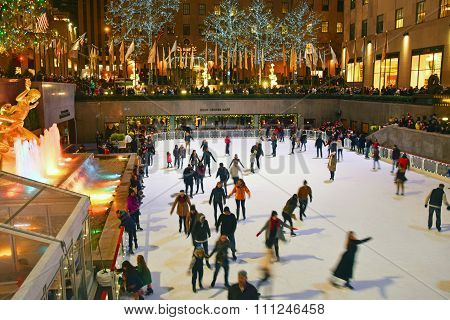 Rockefeller Center New York City Ice Skating