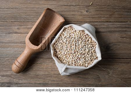 Sorghum With Bailer