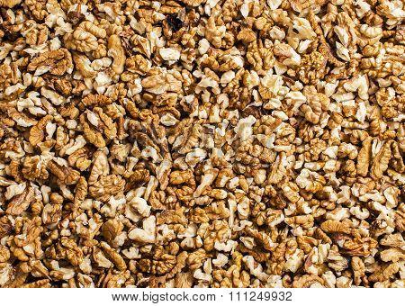 Walnuts Texture