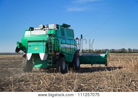 Harvester Working Field