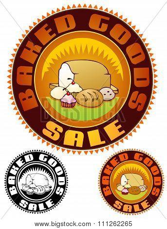 Bake sale emblem