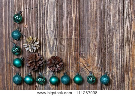 Christmas Decorations Ornament. Christmas Background.