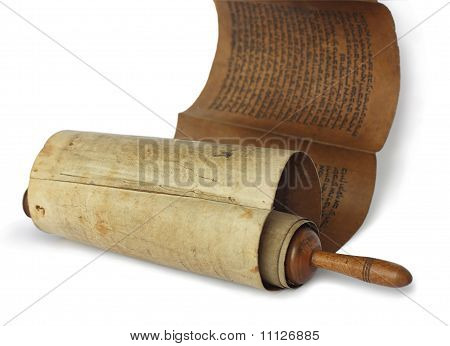 Ancient antique scroll