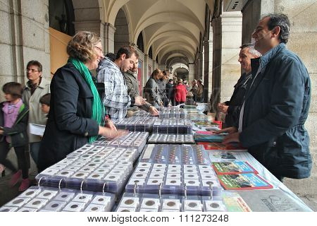 Coin Market In Madrid