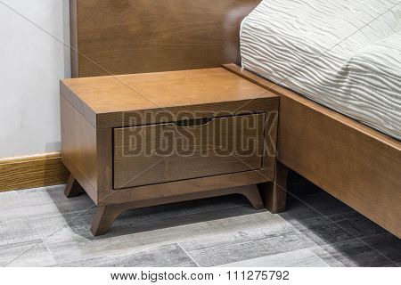 Close Up Of Night Table