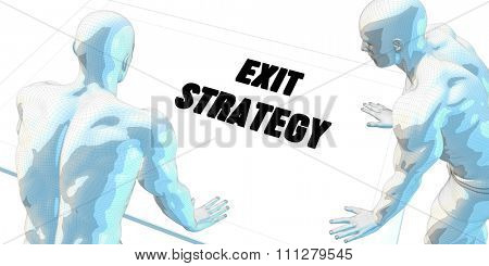 Exit Strategy Discussion and Business Meeting Concept Art