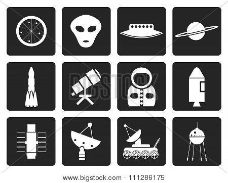 Black Astronautics and Space Icons