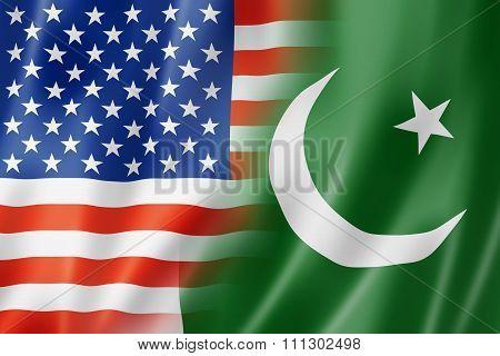 Usa And Pakistan Flag