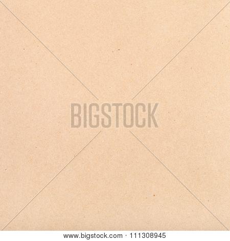 Square Brown Packaging Kraft Paper