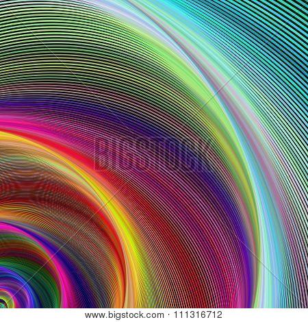 Vortex of colors
