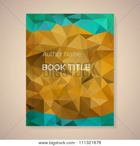 Vector Template For Book Title