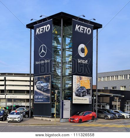 Keto Autocener Ag Smart Center Zurich-wallisellen