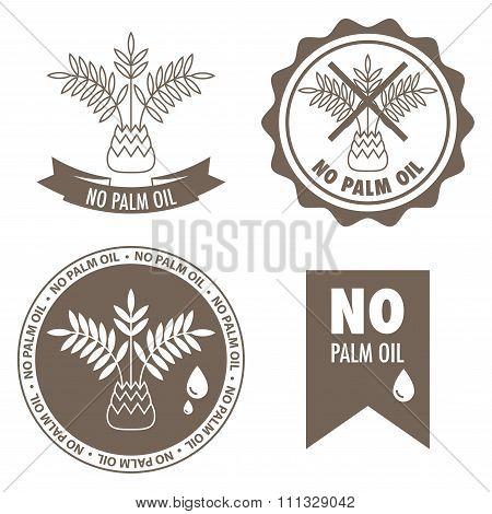 No Palm Oil Labels