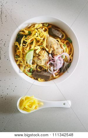 Curried Noodle Soup.