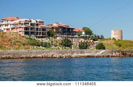 Nesebar Resort Town, Bulgaria, Summer Cityscape