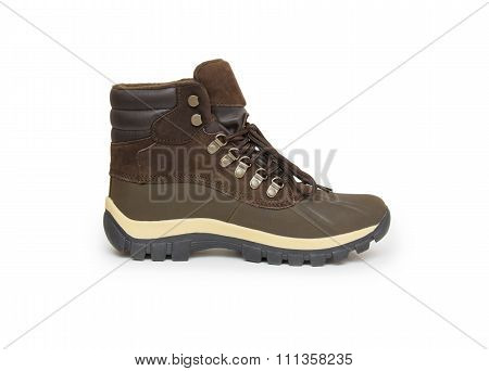 Boots Isolated On White Background