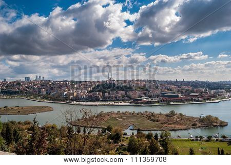 Golden Horn Panorama from Pierre Loti Hill