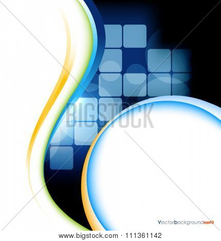 White black vector wave design vector illustration