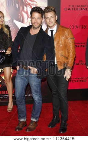 Nate Berkus and Jeremiah Brent at the Los Angeles Premiere of
