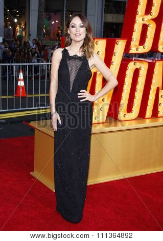 Olivia Wilde at the Los Angeles Premiere of