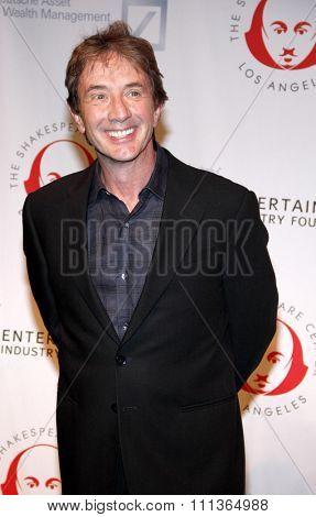Martin Short at the 23rd. Annual Simply Shakespeare held at the Broad Stage in Santa Monica, California, United States on September 25, 2013.