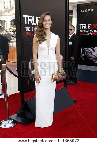 Bailey Noble at the Premiere Of HBO's