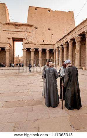 Edfu Temple Guides.