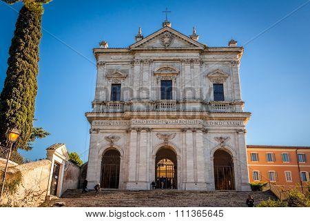 San Gregorio Magno al Celio church in Rome