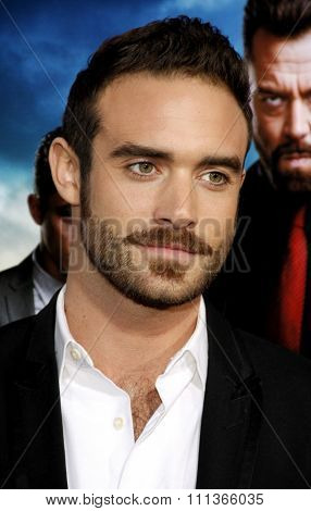 Joshua Sasse at the Los Angeles Premiere of