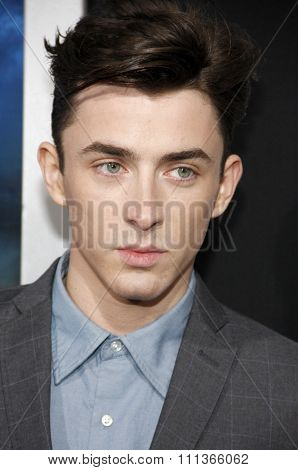 Matthew Beard at the Los Angeles Premiere of