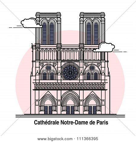 Notre-dame De Paris Card