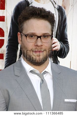 Seth Rogen at the Los Angeles premiere of