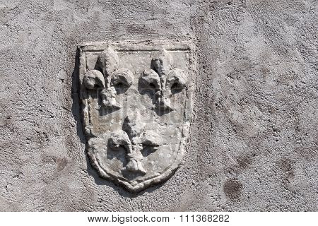 Wall With Blazon